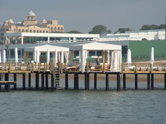 Voyage Belek Golf & Spa: one of the jettys