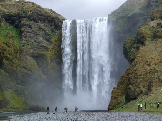 Skogar, Island: Skógafoss