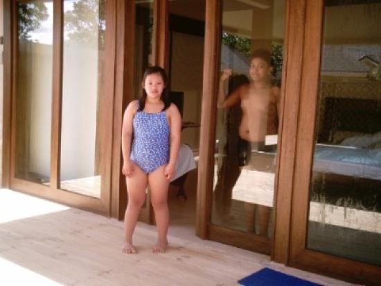 Amorita Resort: Entrance of the Villa