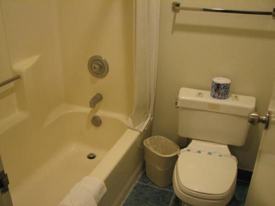 Americas Best Value Inn: Bathroom (slightly cramped) but was kept clean