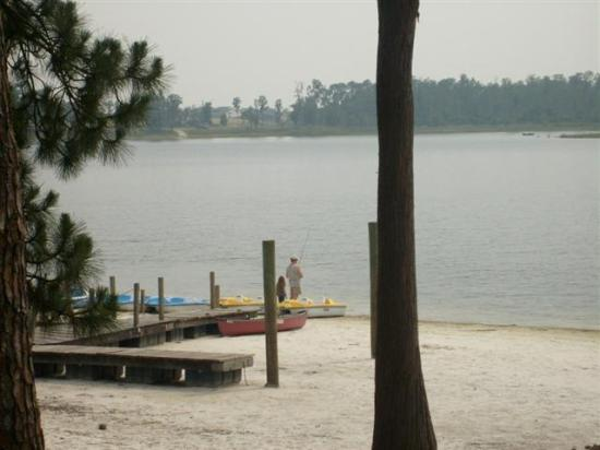Lifetime of Vacations Resort: Beach, much larger than normal!