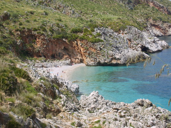 Sicile, Italie : best beach scopello