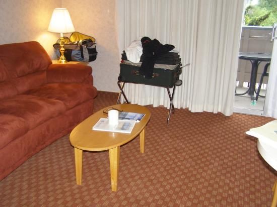Rio Sands Hotel: living room