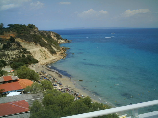 Vasilikos, Greece: View of Mavratzis Beach