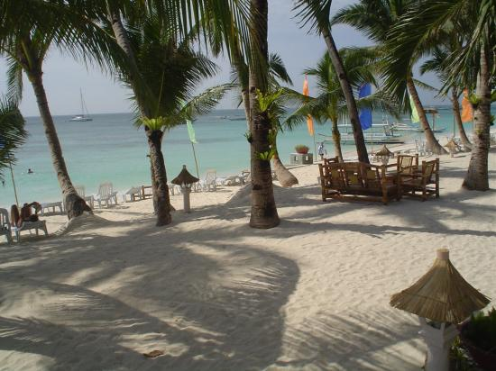 Hotel Isla Boracay-South: from our front porch