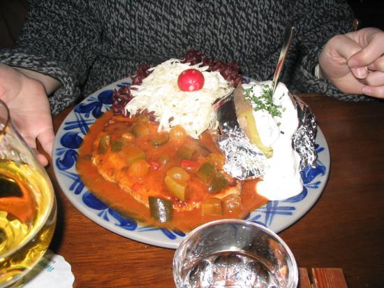 Katzenelnbogen, Alemania: Dinner