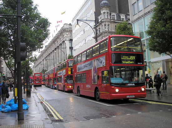 Londra, UK: Autobuses de Londres