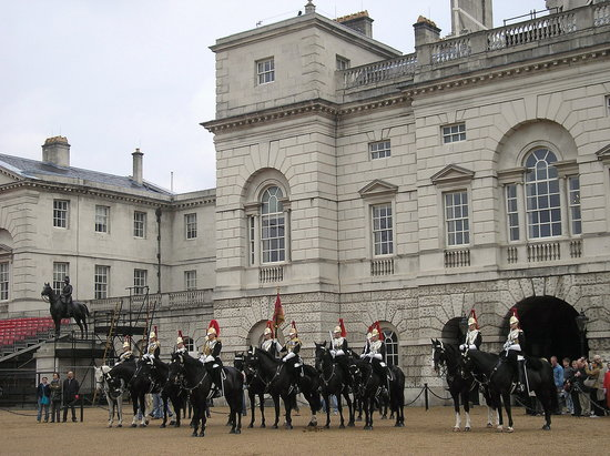 Londen, UK: Cambio de guardia
