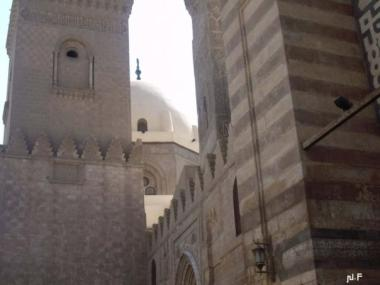 view between the mosques