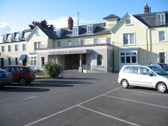 Marine Hotel Sutton View Of From Cross