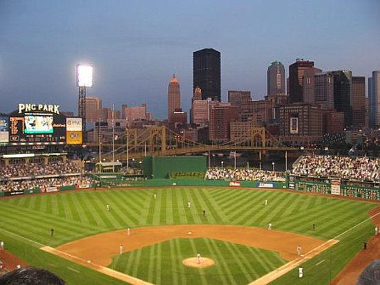 PNC Park: View from PNC at night
