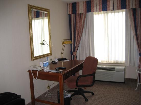 Hilton Garden Inn Milwaukee Park Place: Working Desk