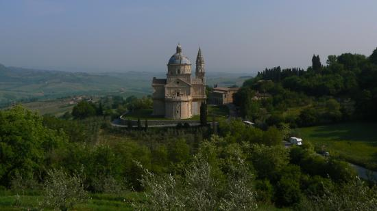 The church from Montorio