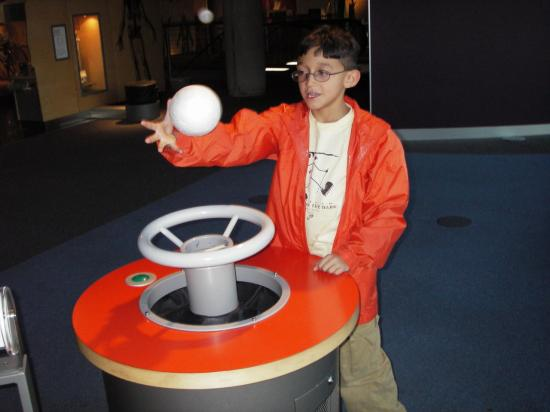 Glasgow Science Centre: Floating Ball