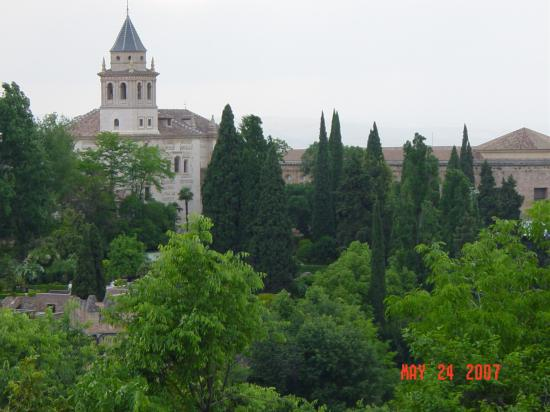 Hotel Anacapri: View of Alhambra, not from hotel