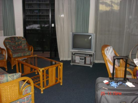 Caribbean Resort Mooloolaba: Living area