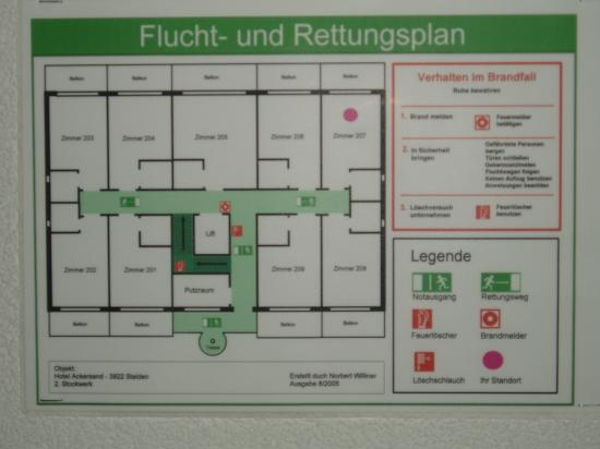 Hotel Ackersand: floor plan. sorry for blurry picture