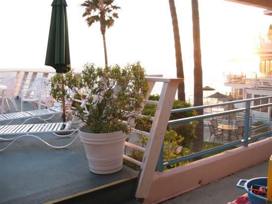Laguna Riviera Beach Resort: View from patio of room 401