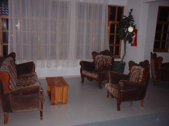 Hotel Seril 2: Lounge area on our floor