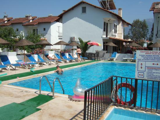 Hotel Seril 2: View of one side of the pool area