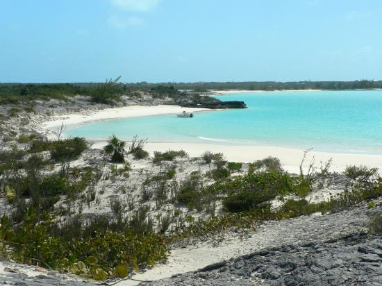 Exuma Vacation Cottages: Moriah Harbour Cay beach
