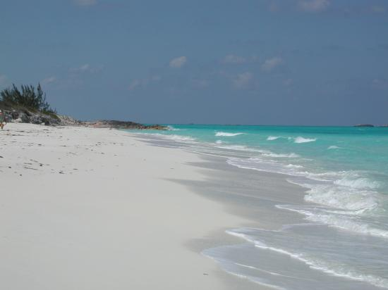 Exuma Vacation Cottages: Moriah Harbour Cut beach