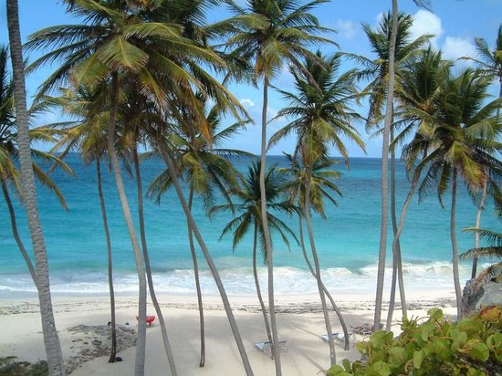 Bridgetown, Barbados: A busy day on the beach