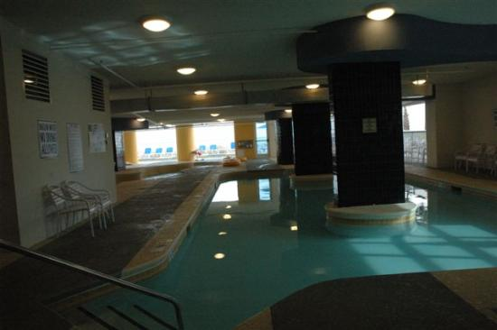 Seaside: Indoor pool. There is also an outdoor pool
