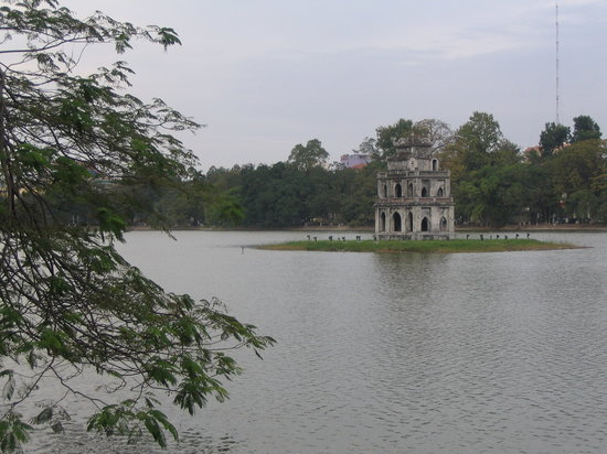 Hanói, Vietnam: Thap Rua- Turtle tower
