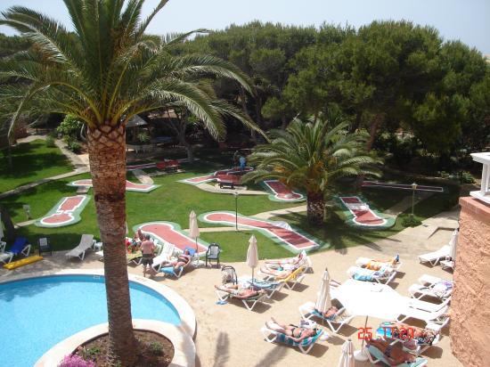 Hotel Xaloc Playa: Mini Golf