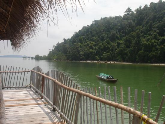Telunas Resorts - Telunas Beach Resort: View behind the