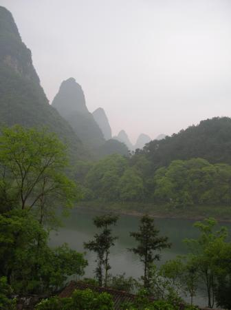 Li River Resort: Karsts forever!
