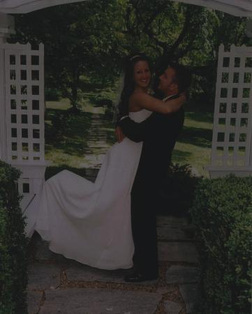 Sobotta Manor Bed & Breakfast : On our wedding day