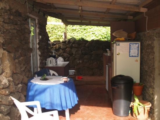 Te'ora: Kitchen Area