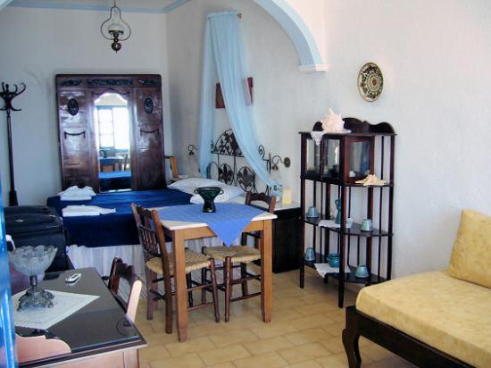 Irini's Villas Resort : Le studio