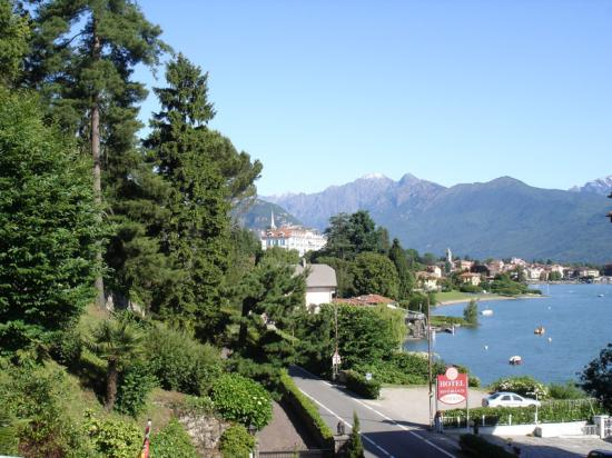 La Sorgente: View from bedroom of Baveno town