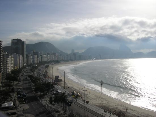 Rio Guest House ( Marta's Guest House): View from the top veranda