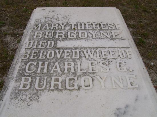 Daytona Beach, FL: Wife of Burgoyne - Creepy No Date