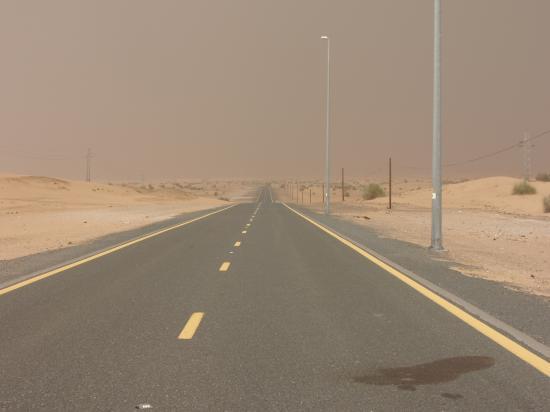 Jumeirah Mina A'Salam : On A Dark Desert Highway . . .