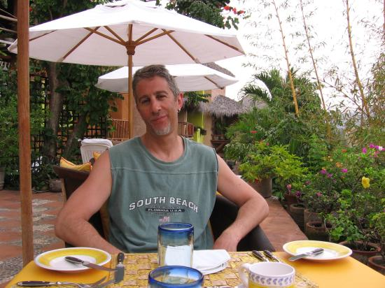 La Quinta Troppo: Mark at breakfast