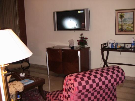 Living room picture of the lalit mumbai mumbai - The living room mumbai maharashtra ...