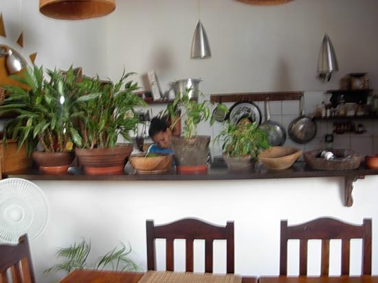 Posada Movida: cocina