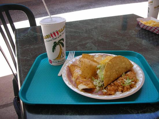 Maui Tacos Napili: My lunch