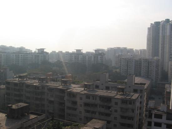 Guangzhou, China: from a top of a Condo apartment