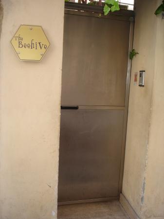 The Beehive door that's easy to miss!