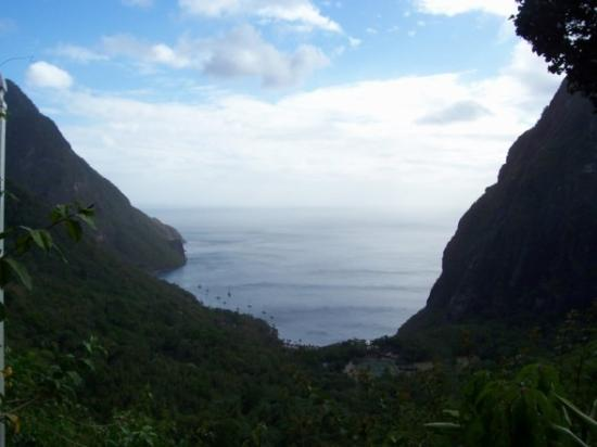 Ladera Resort: View from Room P