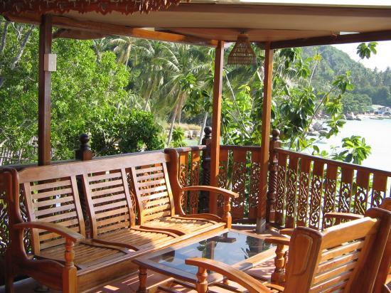 Ko Tao Resort: Room Terrace