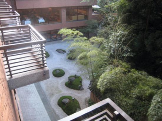 Hyatt Regency Kyoto : View from our room