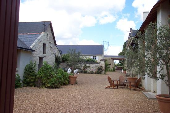 Le Domaine de Mestre: Courtyard