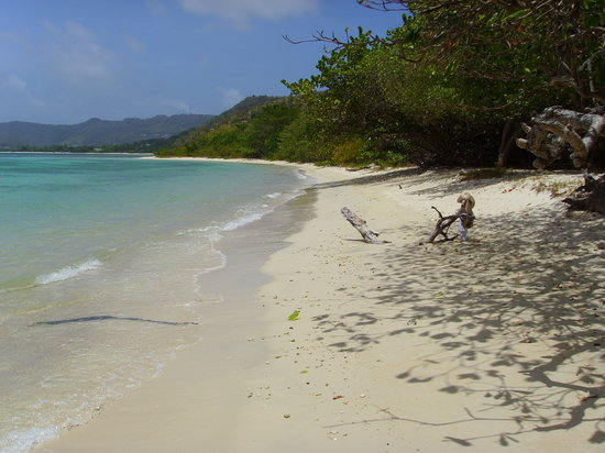 Ilha Carriacou, Grenada: Seaclusion secluded beach